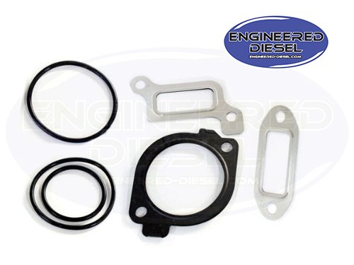 LLY Duramax 2004.5 - 2005 Fuel Pressure Regulator Install Gasket Kit (Fuel Pressure Regulator Duramax compare prices)