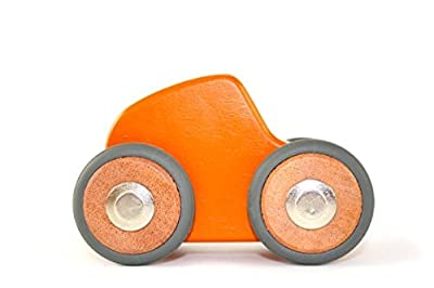 Buy Maddy Magnetic Wooden Block Car 5 Piece by Tegu Toys
