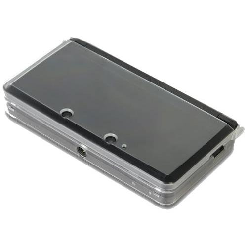 Clear Snap-On Crystal Protective Case (Transparent) for Nintendo 3DS