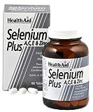 Health Aid, Selenium Plus (Vitamins A, C, E & Zinc) - 60 Tabs