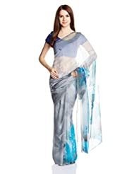 Satya Paul Chiffon Saree