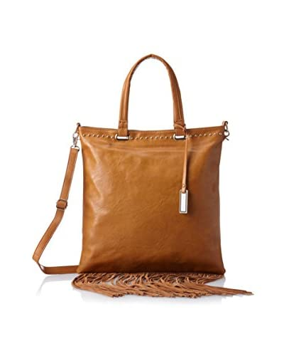 Urban Originals Women's Runway Lover Fringe Bag, Tan/Tan