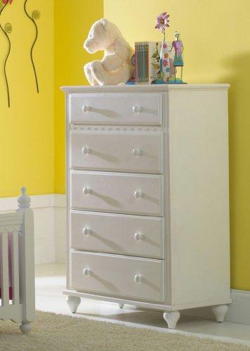 Cheap Hillsdale Furniture 1528-785W Lauren Chest Kids Dresser, White (1528-785W)