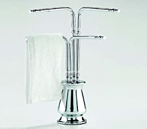 Countertop Towel Holder : ... & Kitchen Countertop Towel Holder Chrome - Towel Bars - Amazon.com