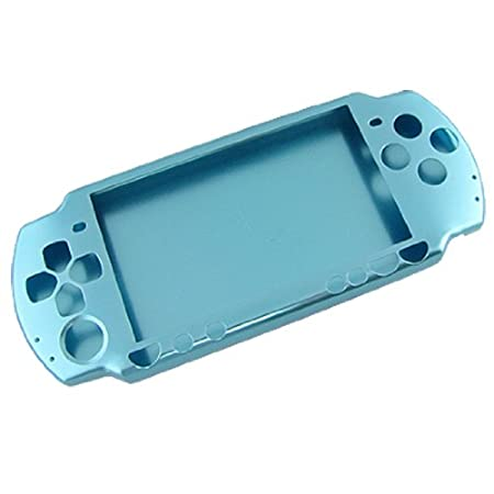 Gino Light Blue Aluminum Protective Case Cover Shell for PSP-2000 PSP Slim & Lite