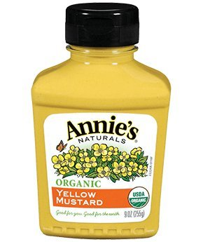 Annie's Organic Yellow Mustard, 9-Ounces