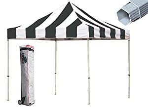 Eurmax PRE 10x10 Pop up Canopy Tent Instant Shelter with Wheeled Storage Bag Bonus... by Eurmax