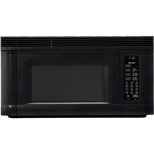 Lowest Price! Sharp R-1405 950-Watt 1-2/5-Cubic-Foot Over-the-Range Microwave, Black