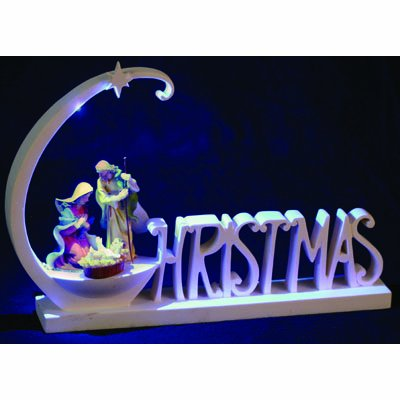 PW Christmas Nativity Decoration with LED