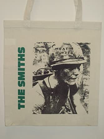 The Smiths Morrissey Meat Is Murder Cotton Tote Bag