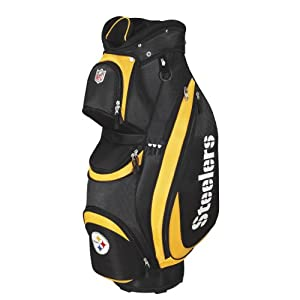 New Wilson Golf - NFL Cart Bag Pittsburgh Steelers by Wilson Golf