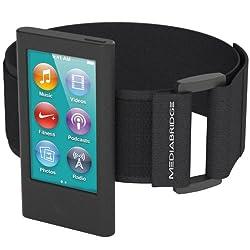 Mediabridge Sport Armband for iPod Nano - 7th Generation (Black)