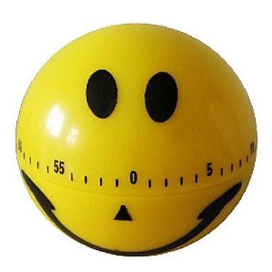 LWW Smiling Face Design 60-Minute Kitchen Cooking Mechanical Timer