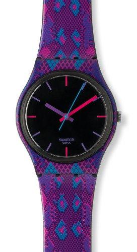Swatch Snaky Purple GB256 Ladies Watch