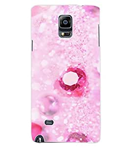 ColourCraft Precious Stones Design Back Case Cover for SAMSUNG GALAXY NOTE 4