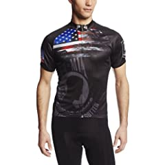 83 Sportswear Mens Pow-Mia Cycling Jersey by 83 Sportswear