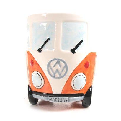 Camper Van Mug - Ceramic - Orange by Puckator