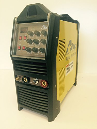 2015 AHP AlphaTIG 200X 200 Amp IGBT AC DC Tig/Stick Welder with PULSE 110v 200v
