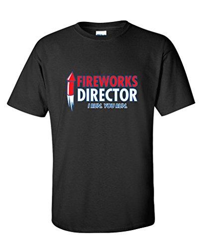 Fireworks Director. I Run, You Run 4th of July Funny T-Shirt