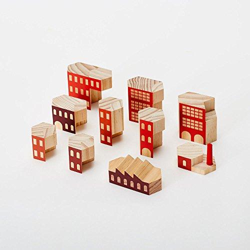 BLOCKITECTURE - Holz Architektur BAUKLÖTZE von James Paulius