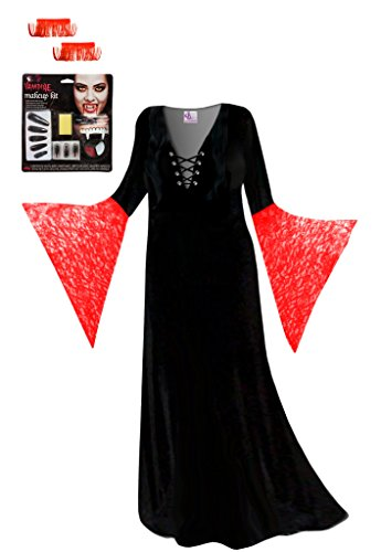 Red V (Vampiress Costumes Kit)