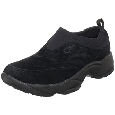 Propet Men's M3850 Washable Moc Walking Shoe,Black Suede,7 M US