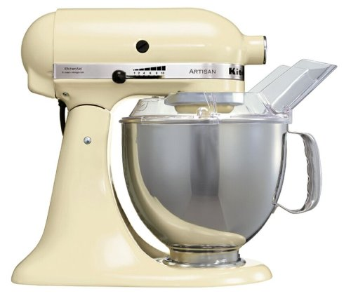 KitchenAid Artisan KSM150BAC Stand Mixer, Cream by Kitchen Aid