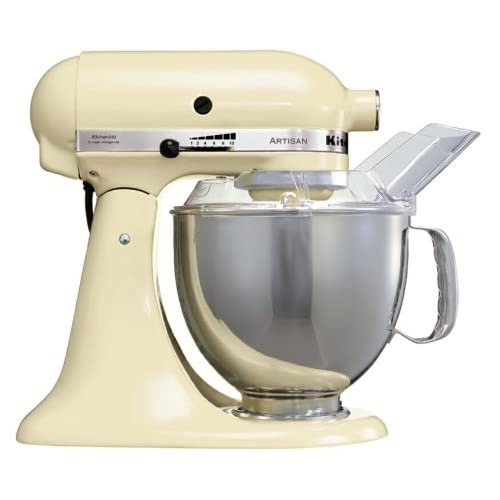kitchenaid artisan ksm150bac stand mixer cream. Black Bedroom Furniture Sets. Home Design Ideas
