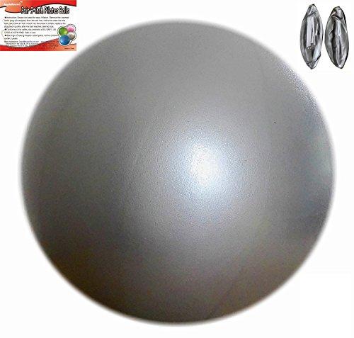 Set of 2 Pilates Mini Exercise Balls, 9-inch (23cm) Diameter for Pilates Yoga Fitness Exercises