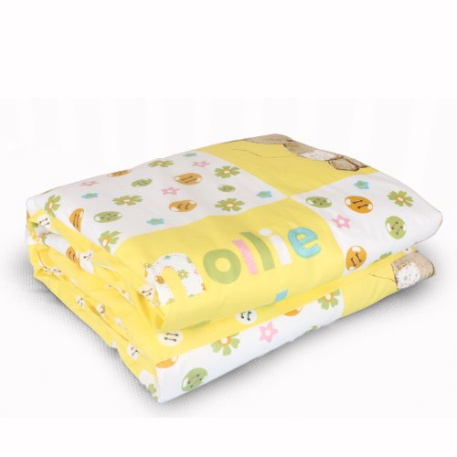 Dele New Special Grade 100% Special Grade Mulberry Silk Baby Quilt / 500G Natural Silk Quilt / Children Quilt (Yellow) front-653060