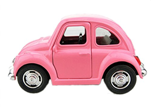 Vidatoy 1:38 Diecast Pull-Back Racers Play Vehicle Let Go Car Toy-Pink (Cars 1 Racers compare prices)
