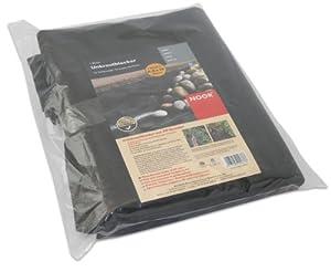 noor 01009010uksc b che anti mauvaises herbes noir 0 9 x 10 m import allemagne jardin. Black Bedroom Furniture Sets. Home Design Ideas