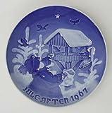 Bing & Grondahl Christmas Plate 1967