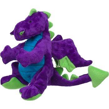Sherpa Go Dog Plush Purple Dragon Dog Toy