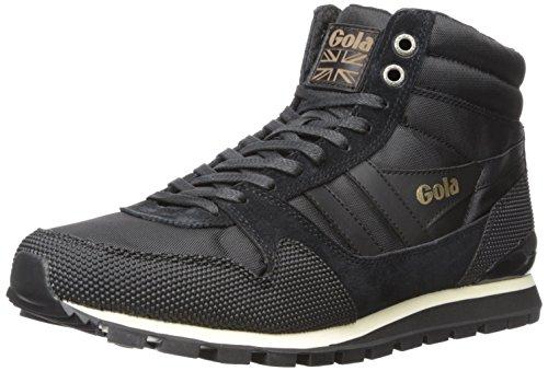 Gola Men's Ridgerunner High Ii Fashion Sneaker, Black/Black, 10 UK/11 M US