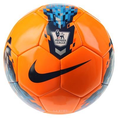 Nike Total 90 Luma Premier League Football 2011 20 Orange/Silver Size 5
