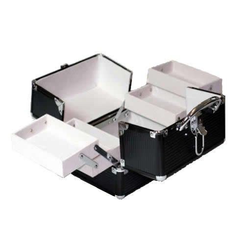 Aluminium mobile beauty case bs35 nail tech storage