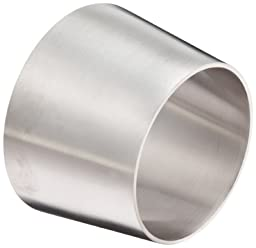 DixonB31W-R300250P Stainless Steel 316L Polished Fitting, Weld Concentric Reducer, 3\
