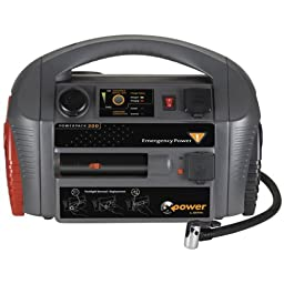 Xantrex Powerpack 300EP Emergency Jump Starter with Built-In Power Inverter and Air Compressor