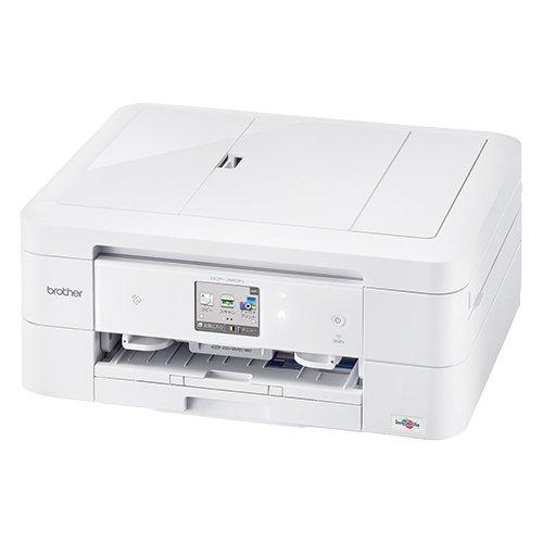 brother プリンター A4 インクジェット複合機 PRIVIO+お徳用4色インクセット DCP-J963N-W+LC211-4PK