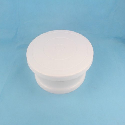 28cm Round Rotating Revolving Cake Turntable Decorating Stand Platform White