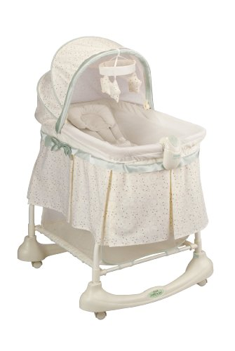 Review Kolcraft Cuddle 'N Care 2-in-1 Bassinet and Incline Sleeper, Emerson