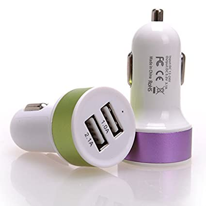UNMCORE-2.1A-Dual-USB-Car-Charger