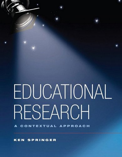 Educational Research: A Contextual Approach
