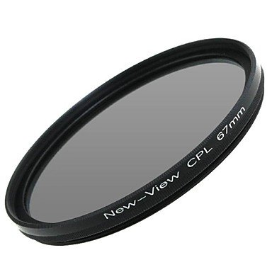 Peach New View Polarizer Filter For Camera(67Mm) , Black