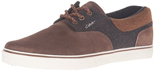 C1RCA Men's Valeo SE Skateboarding Shoe, Tobacco/Brown, 11 M US