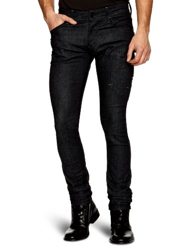 G-star Raw Biker Super Slim Men's Jeans 3D Raw W28INxL32IN