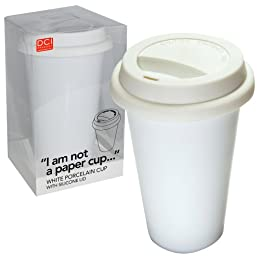 I am not a paper cup reusable mug