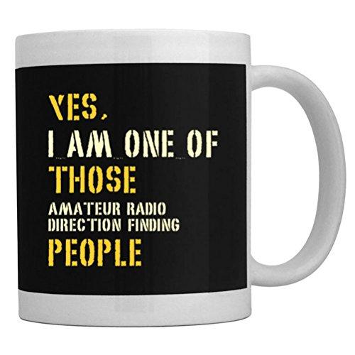 Teeburon Yes I Am One Of Those Amateur Radio Direction Finding People Mug