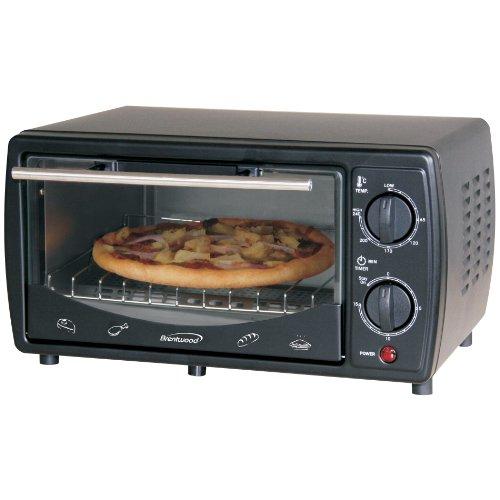 9-Liter Toaster Oven, White front-380851